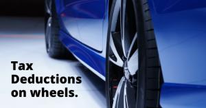 tax deductions on wheels visual